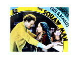 The Squaw Man, from Left, Charles Bickford, Lupe Velez, 1931 Giclee Print