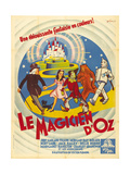 The Wizard of Oz, (AKA Le Magicien D'Oz), 1939 Giclee Print