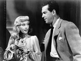 Double Indemnity, from Left, Barbara Stanwyck, Fred Macmurray, 1944 Photo