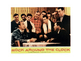 Rock around the Clock, 1956 Giclee Print