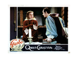 Queen Christina, from Left, Greta Garbo, Edward Norris, 1933 Giclee Print