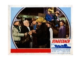 Stagecoach, from Left, Berton Churchill, John Wayne, Andy Devine, George Bancroft, 1939 Giclee Print