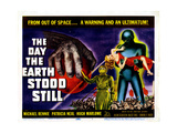 The Day the Earth Stood Still, Michael Rennie, Patricia Neal, 1951 Giclee Print