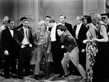 Monkey Business, Zeppo Marx, Groucho Marx, Harpo Marx, Rockliffe Fellowes, Chico Marx, 1931 Photo