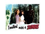 I Walked with a Zombie, Christine Gordon, Frances Dee, Darby Jones, 1943 Giclee Print