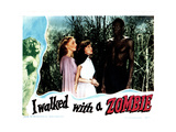 I Walked with a Zombie, from Left, Christine Gordon, Frances Dee, Darby Jones, 1943 Giclee Print