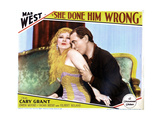 She Done Him Wrong, from Left, Mae West, Owen Moore, 1933 Giclee Print