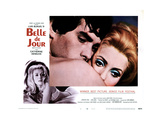 Belle De Jour, from Left, Jean Sorel, Catherine Deneuve, 1967 Giclee Print