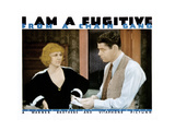 I Am a Fugitive from a Chain Gang, from Left: Glenda Farrell, Paul Muni, 1932 Giclee Print