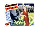 The Big Broadcast of 1936, Ethel Merman, 1935 Giclee Print
