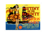 Mutiny on the Bounty, 1935 Giclee Print