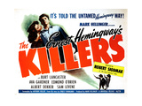 The Killers, from Left, Ava Gardner, Burt Lancaster, 1946 Giclee Print