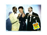 Stormy Weather, from Left: Bill Robinson, Lena Horne, Cab Calloway, 1943 Giclee Print