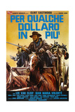 For a Few Dollars More, Clint Eastwood, 1965 Giclée-tryk