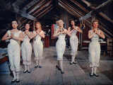 Seven Brides for Seven Brothers, Betty Carr, Virginia Gibson, Ruta Kilmonis, 1954 Photo
