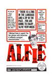 Alfie, Michael Caine, 1966 Giclée-tryk