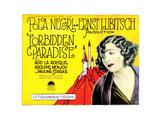 Forbidden Paradise, Pola Negri, 1924 Giclee Print