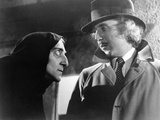Young Frankenstein, from Left: Marty Feldman, Gene Wilder, 1974 Photo
