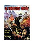 The Hidden Fortress, (AKA Kakushi0Toride No San-Akunin, La Fortaleza Escondida), 1958 Giclee Print