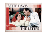 The Letter, from Left, Bette Davis, Herbert Marshall, 1940 Giclee Print