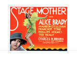 Stage Mother, from Left, Maureen O'Sullivan, Alice Brady, 1933 Giclee Print
