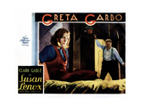 Susan Lenox - Her Fall and Rise, from Left, Greta Garbo, Alan Hale, Sr., 1931 Giclee Print