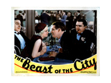 The Beast of the City, from Left, J. Carrol Naish, Jean Harlow, Wallace Ford, Jean Hersholt, 1932 Giclee Print