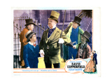 David Copperfield, Front from Left: Freddie Bartholomew, W.C. Fields, 1935. Giclee Print
