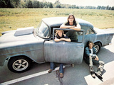 Two-Lane Blacktop, Laurie Bird, James Taylor, Dennis Wilson, 1971 Photographie