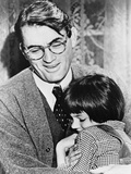 To Kill a Mockingbird, from Left: Gregory Peck, Mary Badham, 1962 Photo