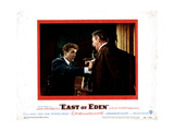 East of Eden, from Left, James Dean, Raymond Massey, 1955 Giclee Print