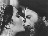The Taming of the Shrew, from Left: Elizabeth Taylor, Richard Burton, 1967 Photo