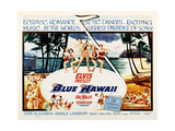 Blue Hawaii, Top Center and Lower Second from Left: Elvis Presley, 1961 Giclee Print