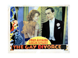The Gay Divorcee, from Left, Ginger Rogers, Fred Astaire, 1934 Giclee Print