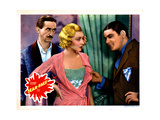 Scarface, from Left, Osgood Perkins, Karen Morley, Paul Muni, 1932 Giclee Print