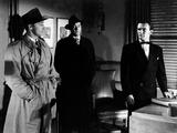 Out of the Past, Robert Mitchum, Paul Valentine, John Kellogg, 1947 Photo