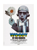 Sleeper, (AKA Woody Et Les Robots), French Poster Art, Woody Allen, 1973 Giclee Print