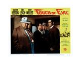 Touch of Evil, Orson Welles,Victor Milan, Joseph Calleia, Charlton Heston, 1958 Giclee Print
