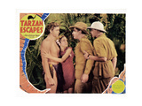 Tarzan Escapes, 1936 Giclee Print