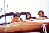 Smokey and the Bandit, Burt Reynolds, Sally Field, Jerry Reed, 1977 Photo