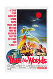 The War of the Worlds, Bottom from Left: Gene Barry, Ann Robinson, 1953 Giclee Print