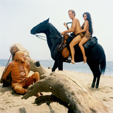 Planet of the Apes, Maurice Evans, Charlton Heston, Linda Harrison, 1968 Photo