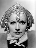 Mata Hari, Greta Garbo, Portrait by Clarence Sinclair Bull, 1931 Photo