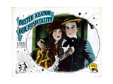 Our Hospitality, from Left: Natalie Talmadge, Buster Keaton, 1923 Giclee Print