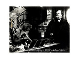 The Blue Angel, (AKA Der Blaue Engel), from Left, Marlene Dietrich, Emil Jannings, 1930 Giclee Print