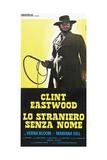 High Plains Drifter, (AKA Lo Straniero Senza Nome), Clint Eastwood, 1973 Giclee Print
