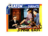 Speak Easily, from Left: Buster Keaton, Thelma Todd, Jimmy Durante, 1932 Giclee Print