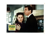 How Green Was My Valley, from Left, Maureen O'Hara, Walter Pidgeon, 1941 Giclée-tryk