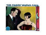 The Canary Murder Case, from Left: William Powell, Louise Brooks, 1929 Giclee Print