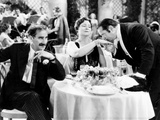 A Night at the Opera, from Left, Groucho Marx, Margaret Dumont, Sig Ruman, 1935 Photo